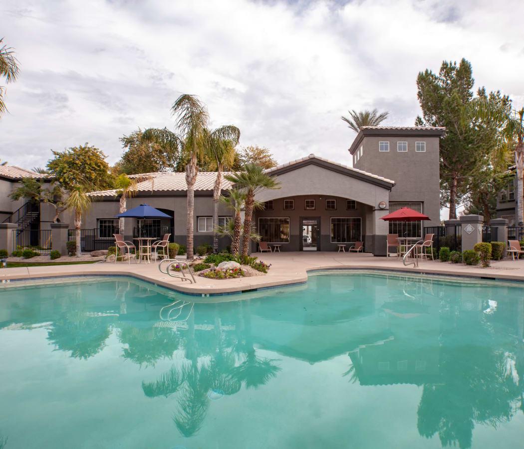 Large swimming pool at Sierra Canyon in Glendale, Arizona