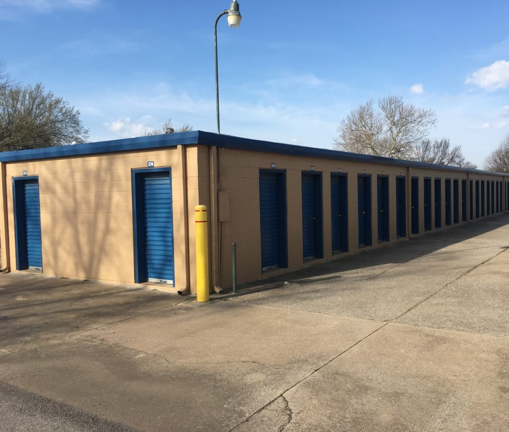 Gated entrance at Storage OK in Tulsa, Oklahoma