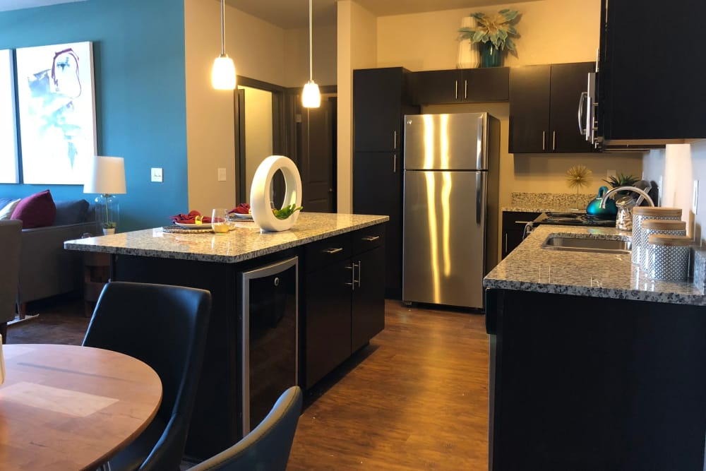 Kitchen at Springs at Sun Prairie