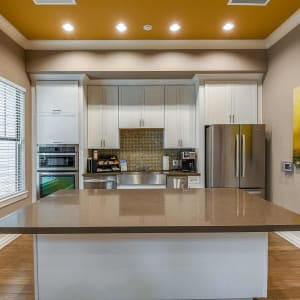 Clubhouse kitchen at Terraces at Town Center in Jacksonville, Florida