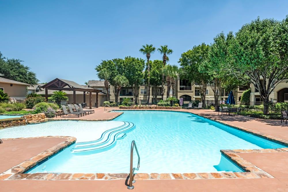 Swimming Pool at Salado Springs Apartments in San Antonio, Texas