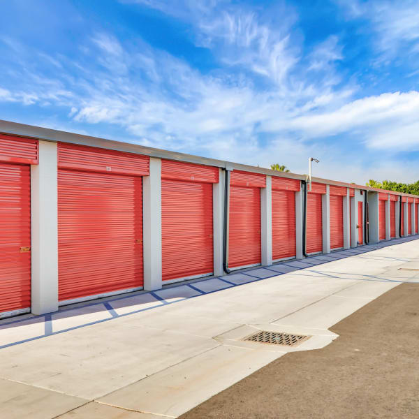 Climate controlled indoor storage units at StorQuest Self Storage in Port St Lucie, Florida