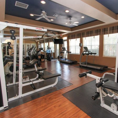 Palms at Wyndtree's advanced fitness center