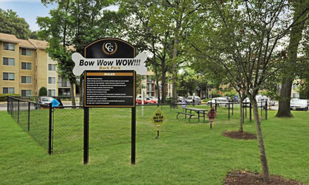 Bark park at Chesapeake Glen Apartment Homes in Glen Burnie, MD
