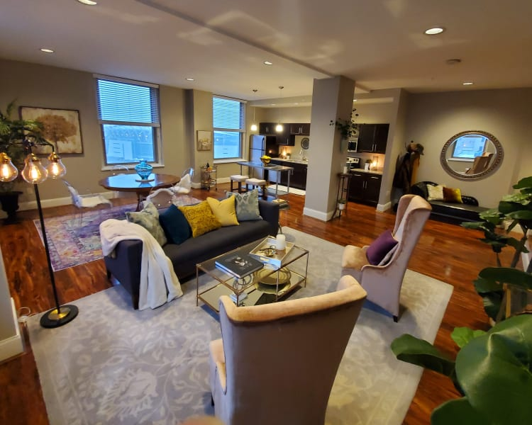 luxury floor plans at The Reserve at 4th and Race