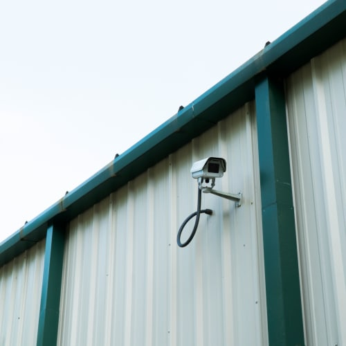 Security cameras at Red Dot Storage in Madisonville, Louisiana