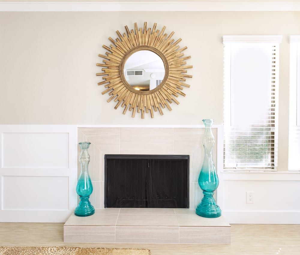 Marquee offers apartments with a fireplace in Walnut Creek, California