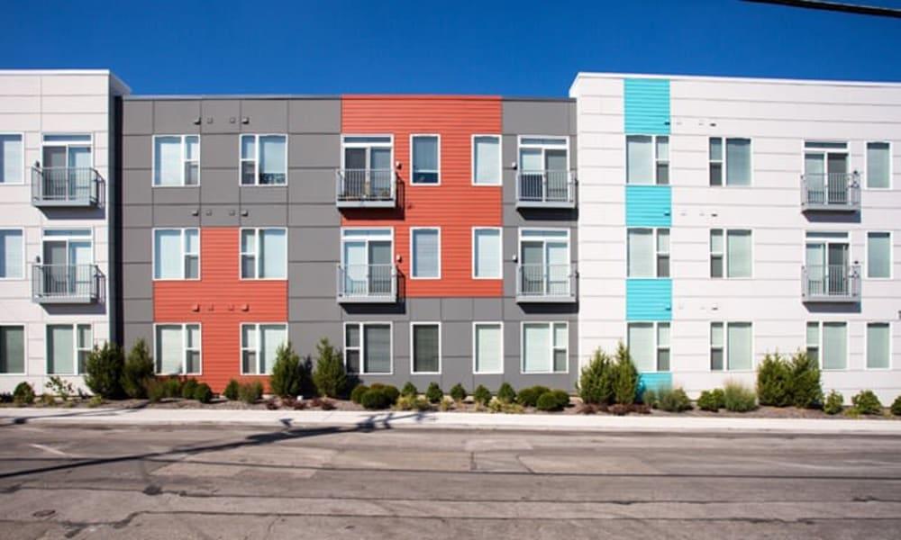 Apartment homes at Gantry Apartments in Cincinnati, Ohio