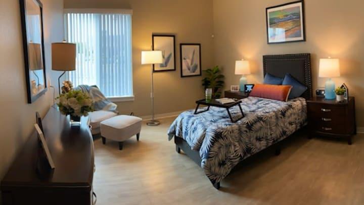 Resident apartment at Seasons Memory Care in Torrance, CA