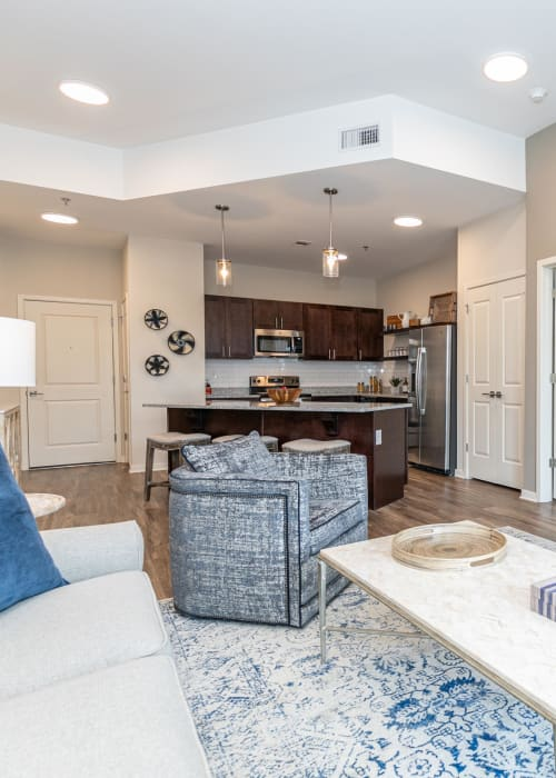 Beautifully architected open-concept model home at The Station at River Crossing in Macon, Georgia