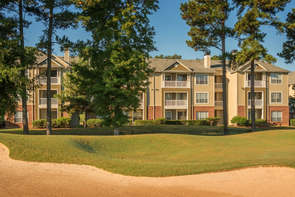 Beautiful exterior at Preston View in Morrisville, North Carolina