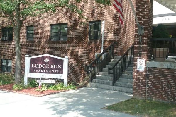 Stay social at Lodge Run Apartments in Portage.