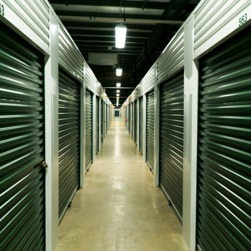 Climate controlled storage units at Red Dot Storage in Madisonville, Louisiana