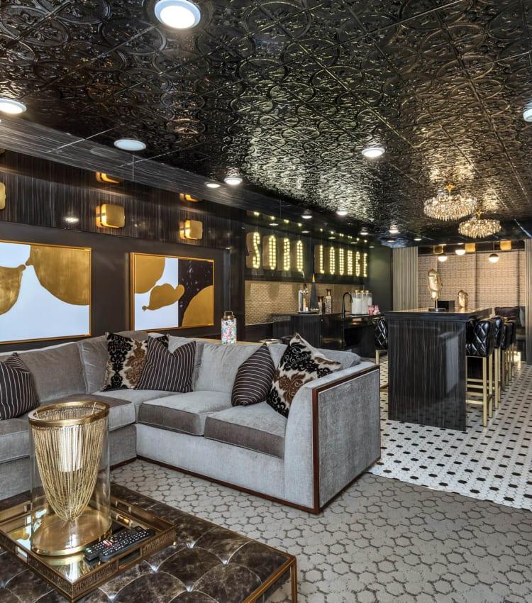 Resident lounge at Alta SoBo Station in Denver, Colorado