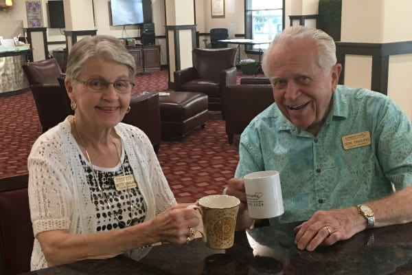 Testimonials from residents at Springwood Landing Gracious Retirement Living in Vancouver, Washington