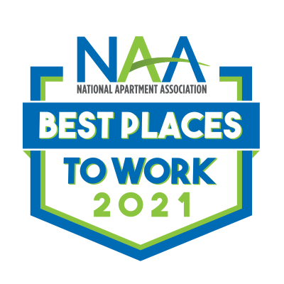 National Apartment Association Best Places to Work logo