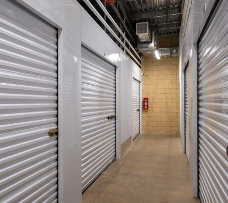Interior storage hallway of StorQuest Express - Self Service Storage in Kapolei, Hawaii