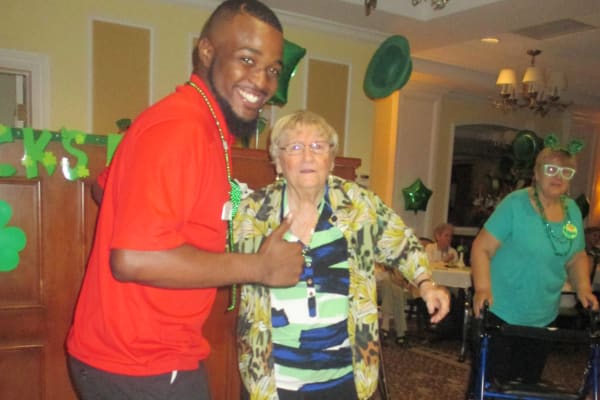 Discovery senior living team member photo gallery for St patrick s church palm beach gardens