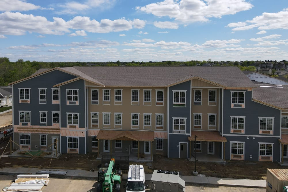 aerial view of Legacy Living Florence
