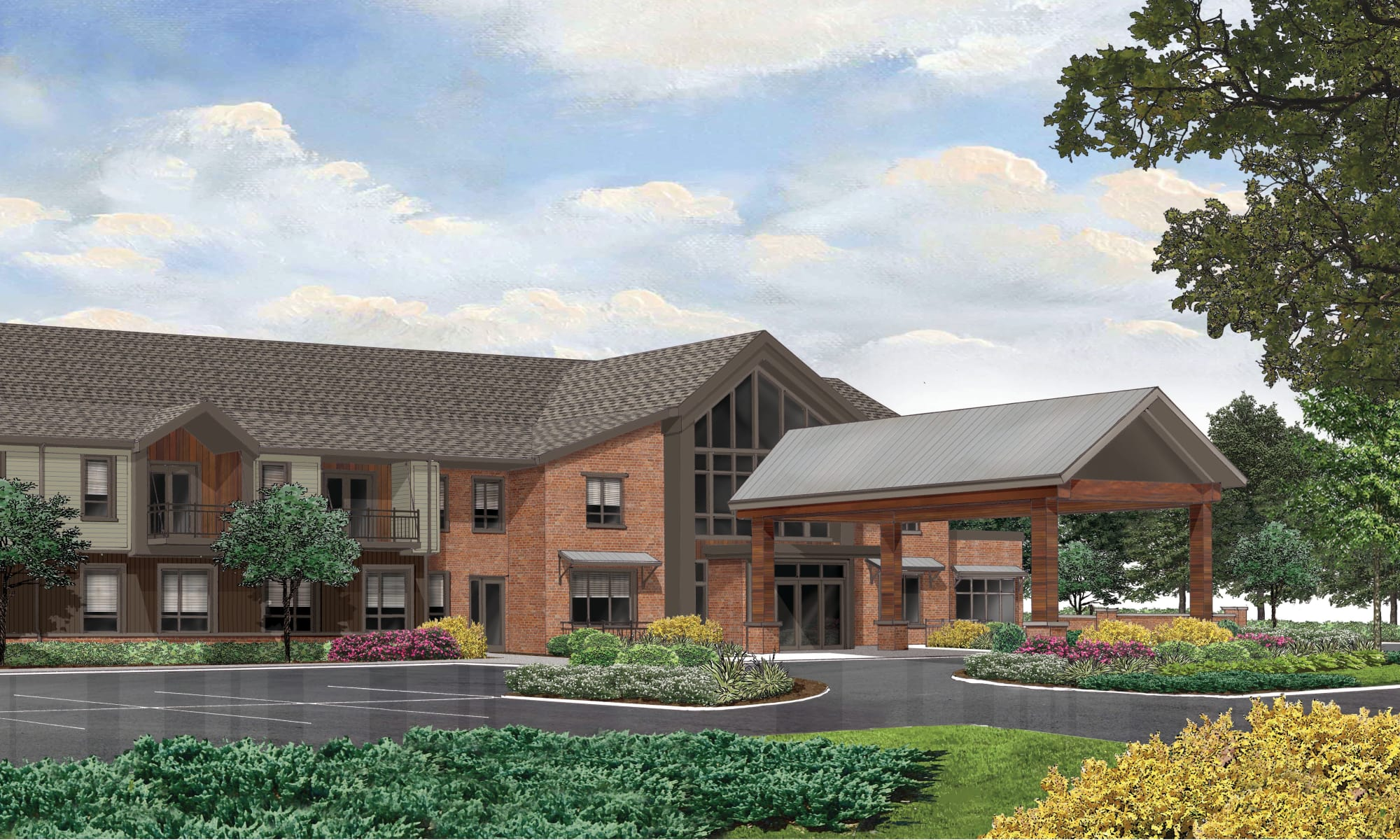 Exquisite senior living facility located in Beavercreek, Ohio