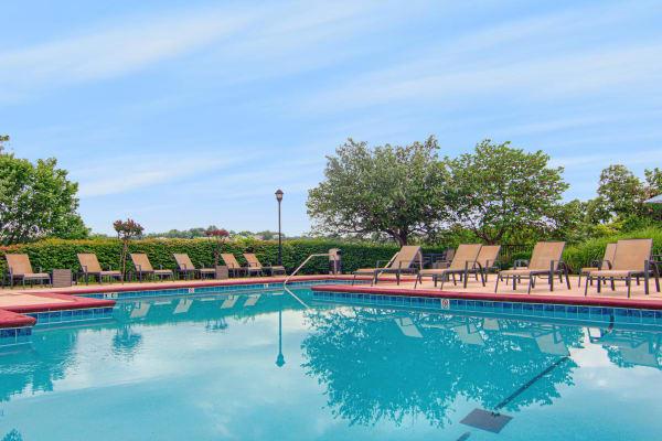 Pool at Vintage on Yale in Tulsa, Oklahoma