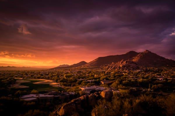Stunning view from Gramercy Scottsdale in Scottsdale, Arizona