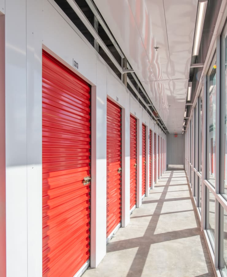 Indoor units at StorQuest Self Storage in Englewood, Colorado