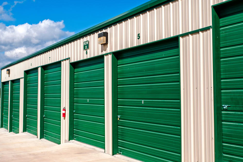 Exterior Units Lockaway Storage in San Antonio, Texas