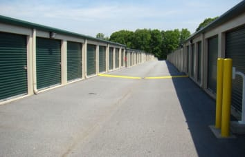 Secure self storage in High Point, North Carolina