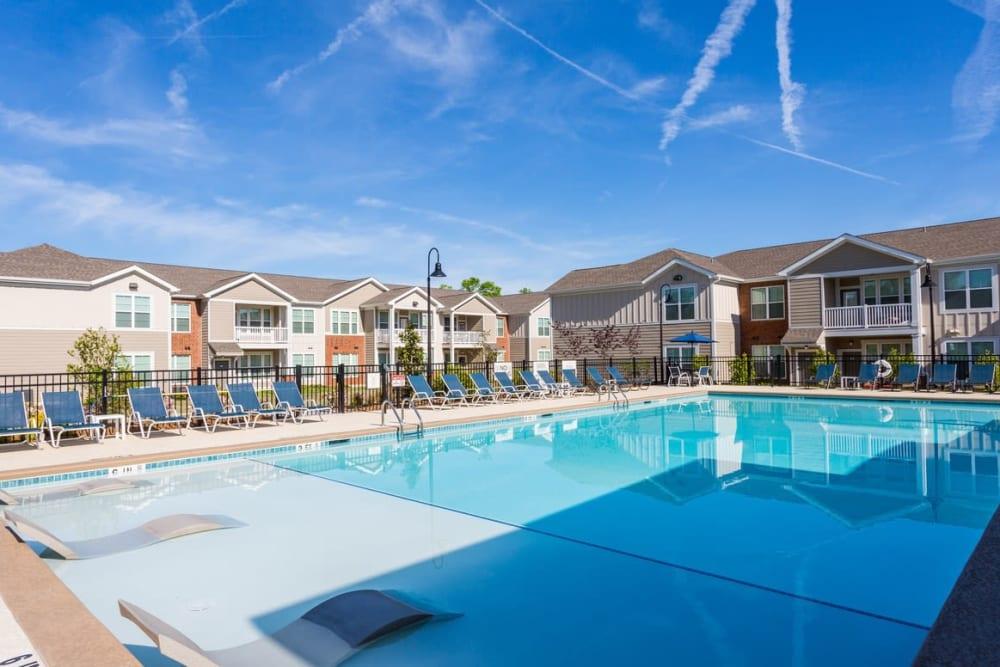 Resort style swimming pool at Springs at McDonough in McDonough, GA