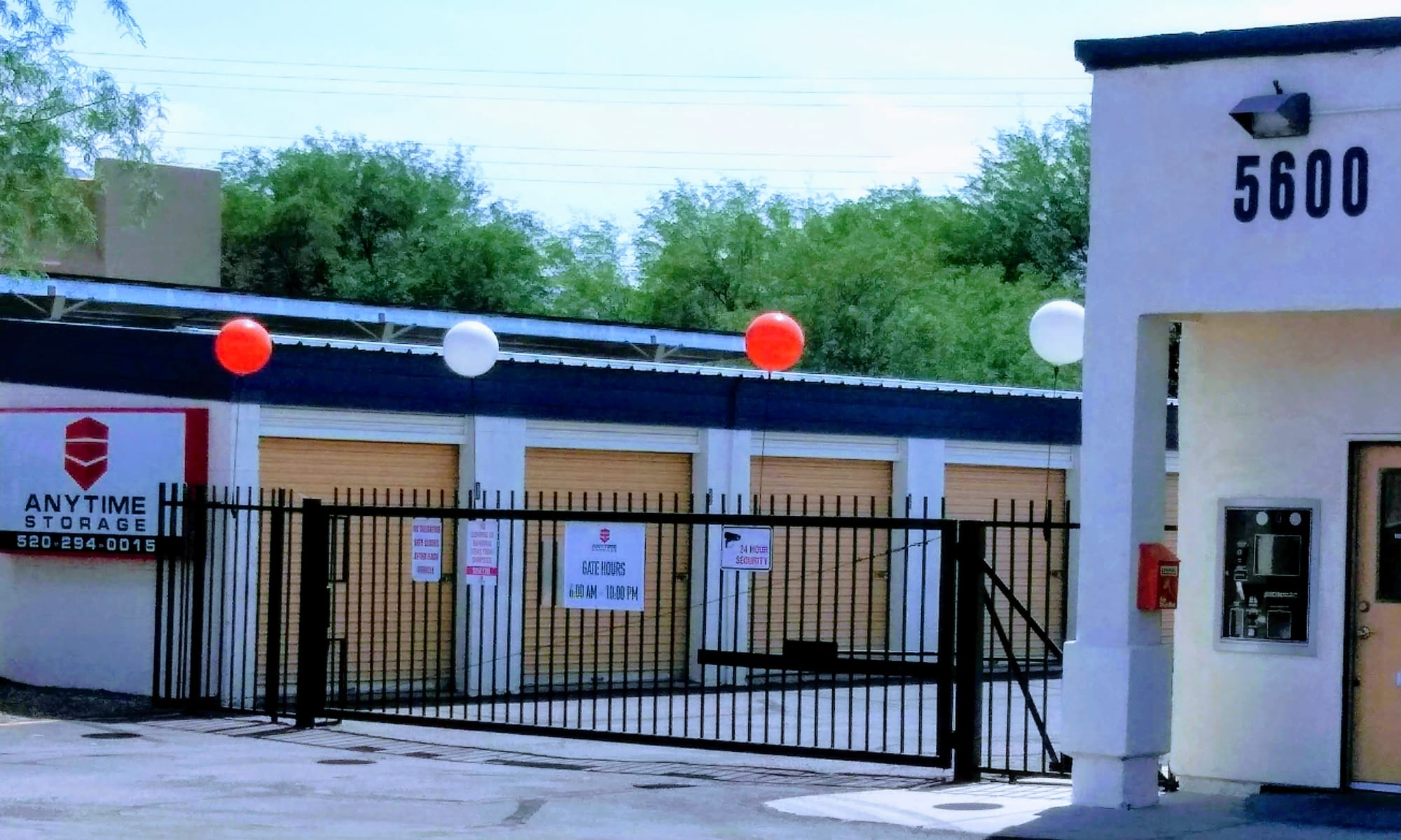 Self storage in Tucson AZ