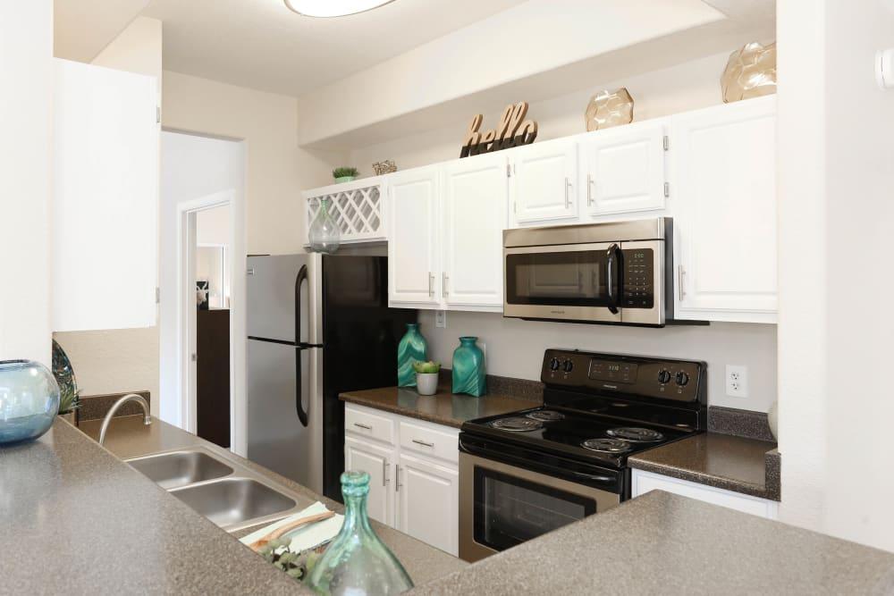 Kitchen at Tresa at Arrowhead Apartments in Glendale, Arizona