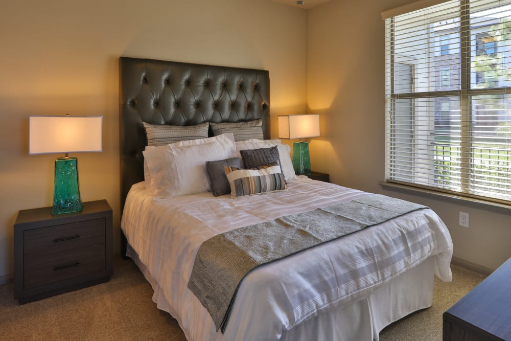 Expansive bedroom layout at Olympus at Waterside Estates in Richmond, Texas