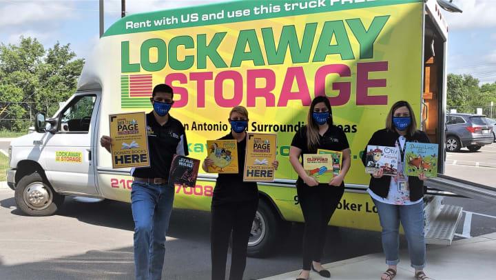 Lockaway Storage Partners with KENS 5 San Antonio