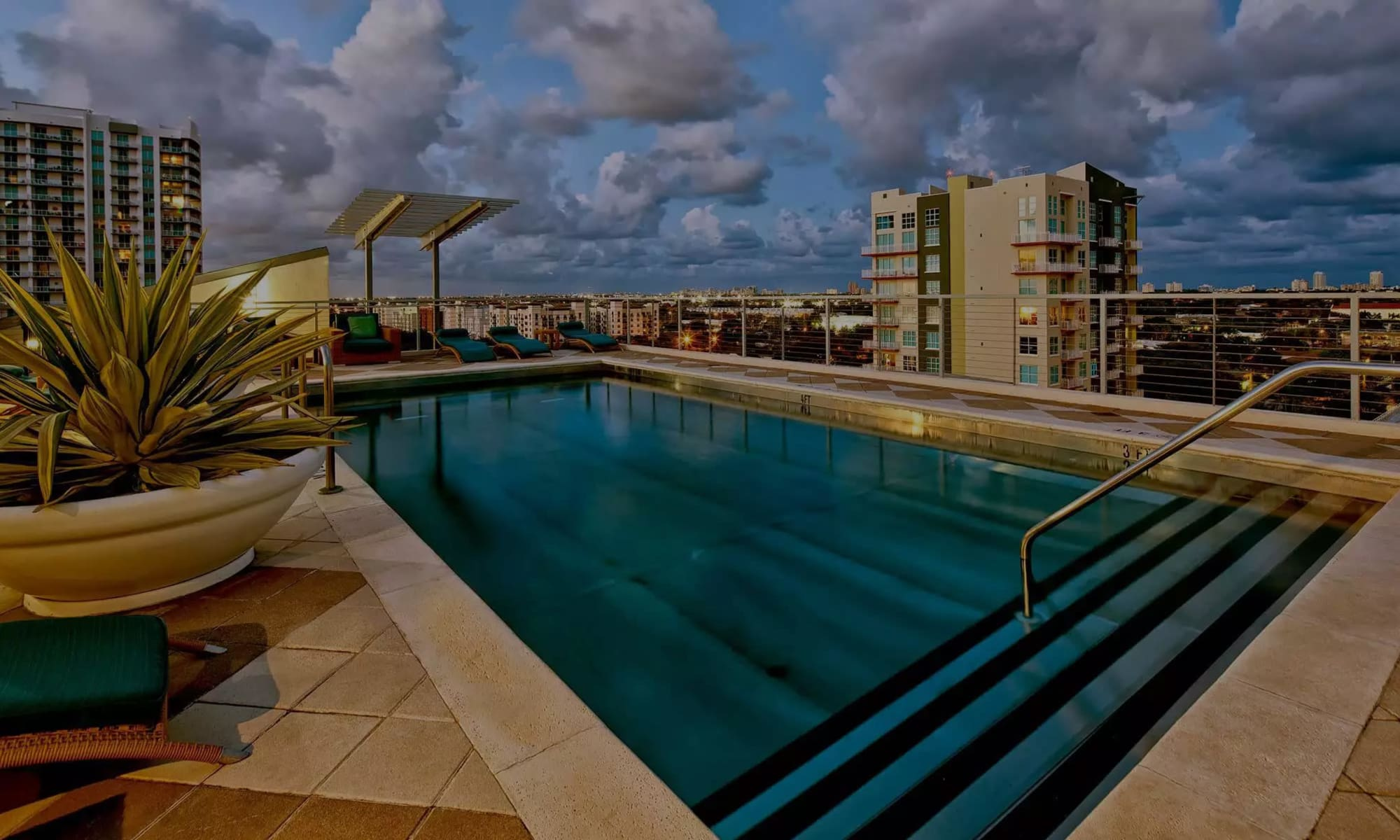 Luxury apartments at The Exchange Lofts in Fort Lauderdale, Florida