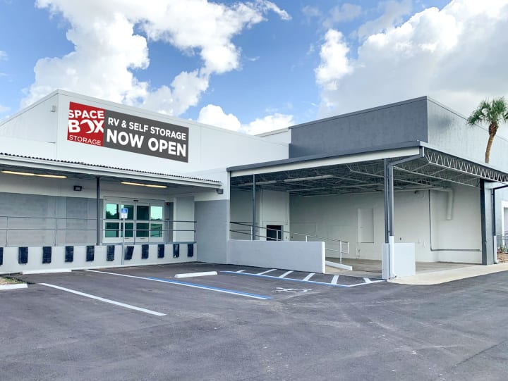 Exterior of Spacebox Fort Myers