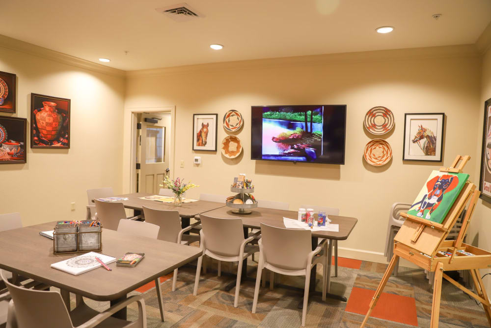 Movie theater at The Park at Surprise Independent Living Community