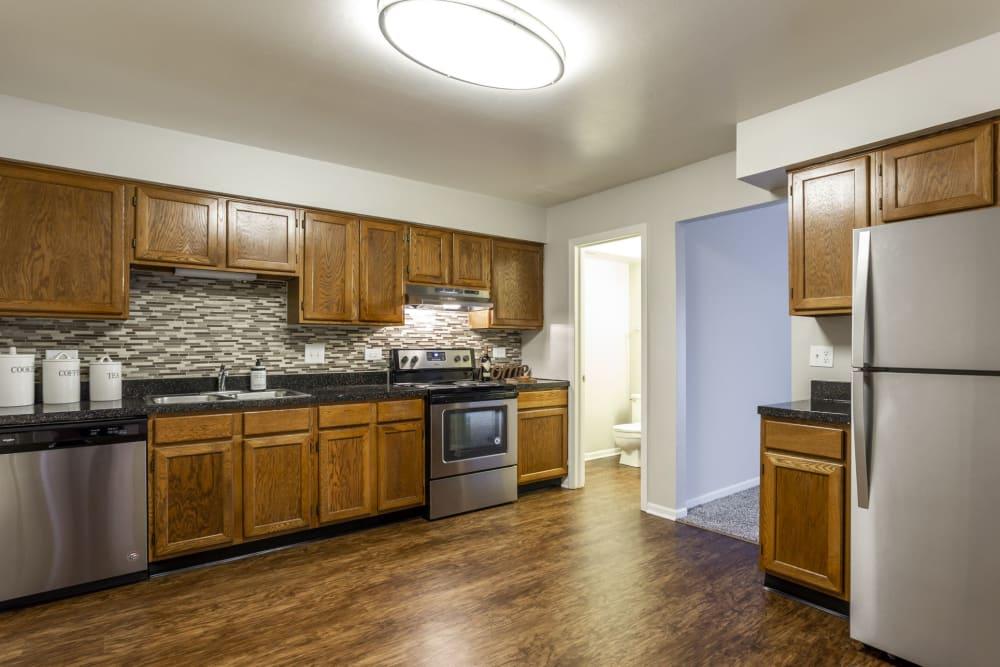 Enjoy a beautiful kitchen at Aspen Place
