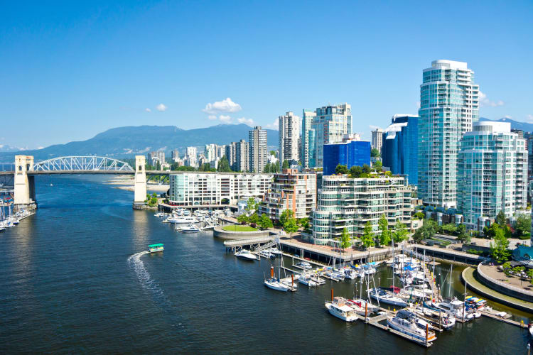 Photo of Vancouver by the water