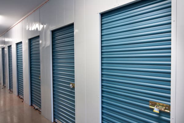 Secured indoor storage units at Centerville Self Storage in Centerville, Georgia