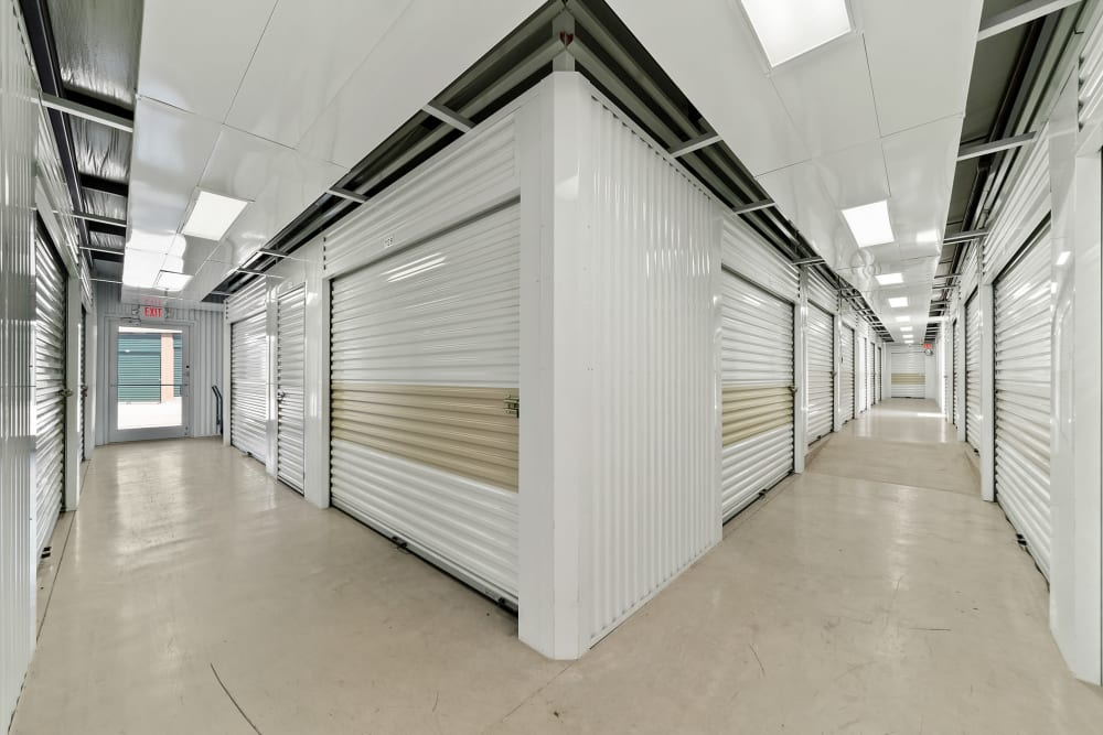 Indoor storage units at Store It All Self Storage - Converse in Converse, Texas