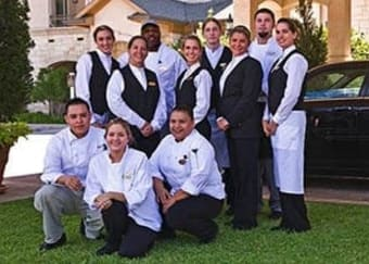 Senior living community staff members in Fort Worth, Texas