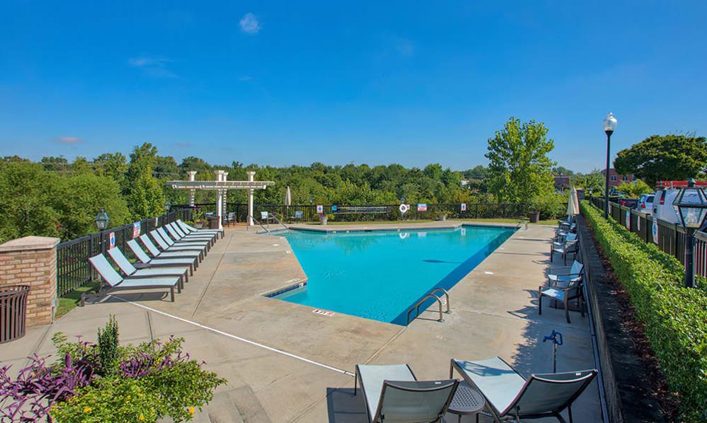 Swimming pool at Atkins Circlein Charlotte, North Carolina