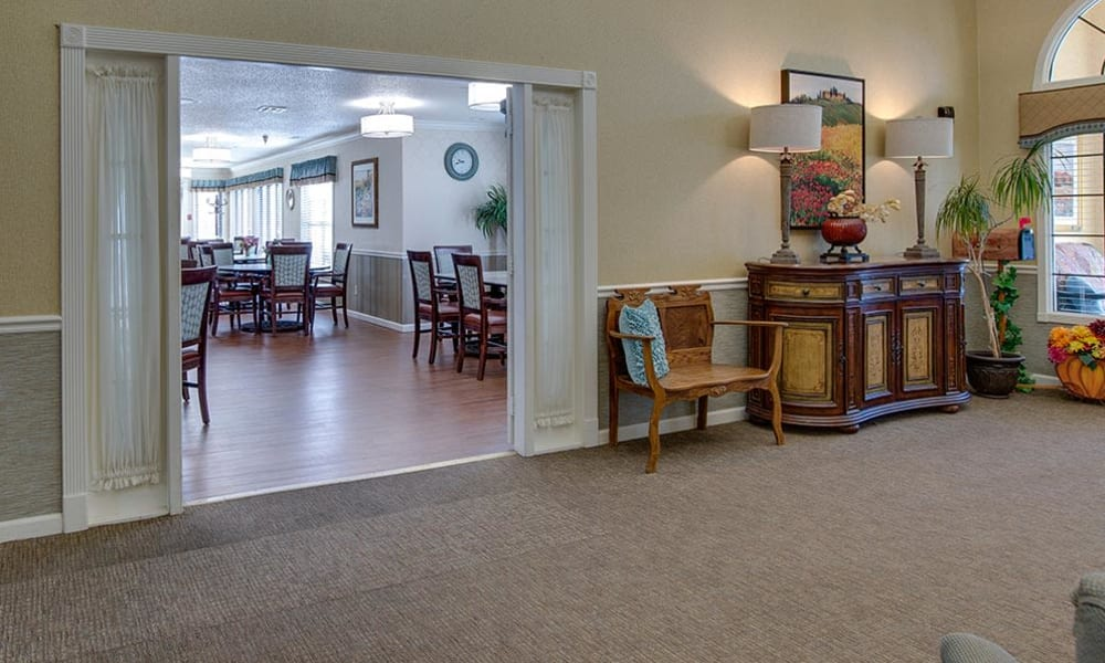 Welcome to Carrington Place Senior Living in Pittsburg, Kansas