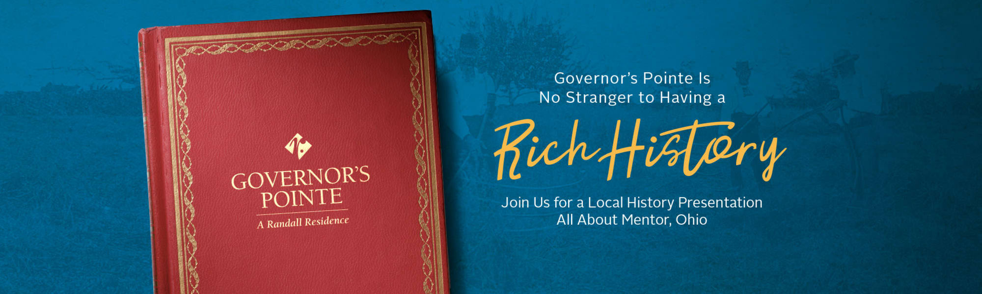 Events at Governor's Pointe in Mentor, Ohio