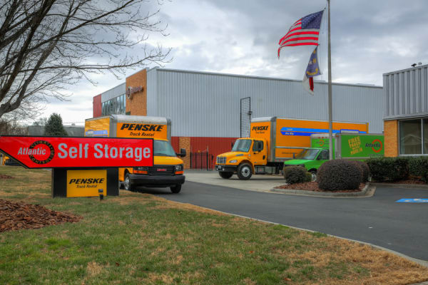 Free moving truck at Atlantic Self Storage