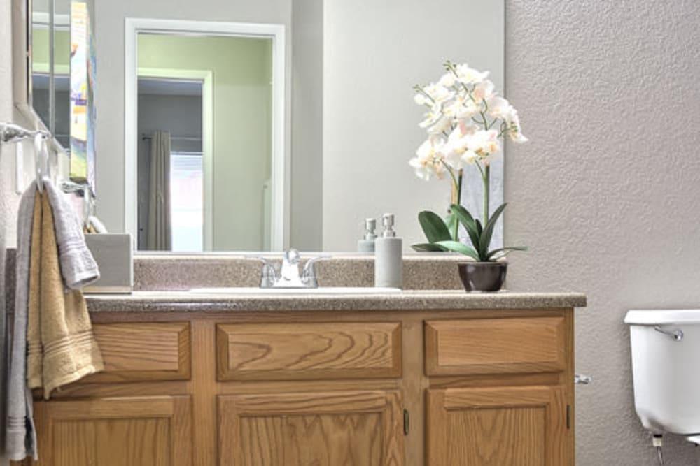 Bathroom at Mariner at South Shores in Las Vegas, Nevada