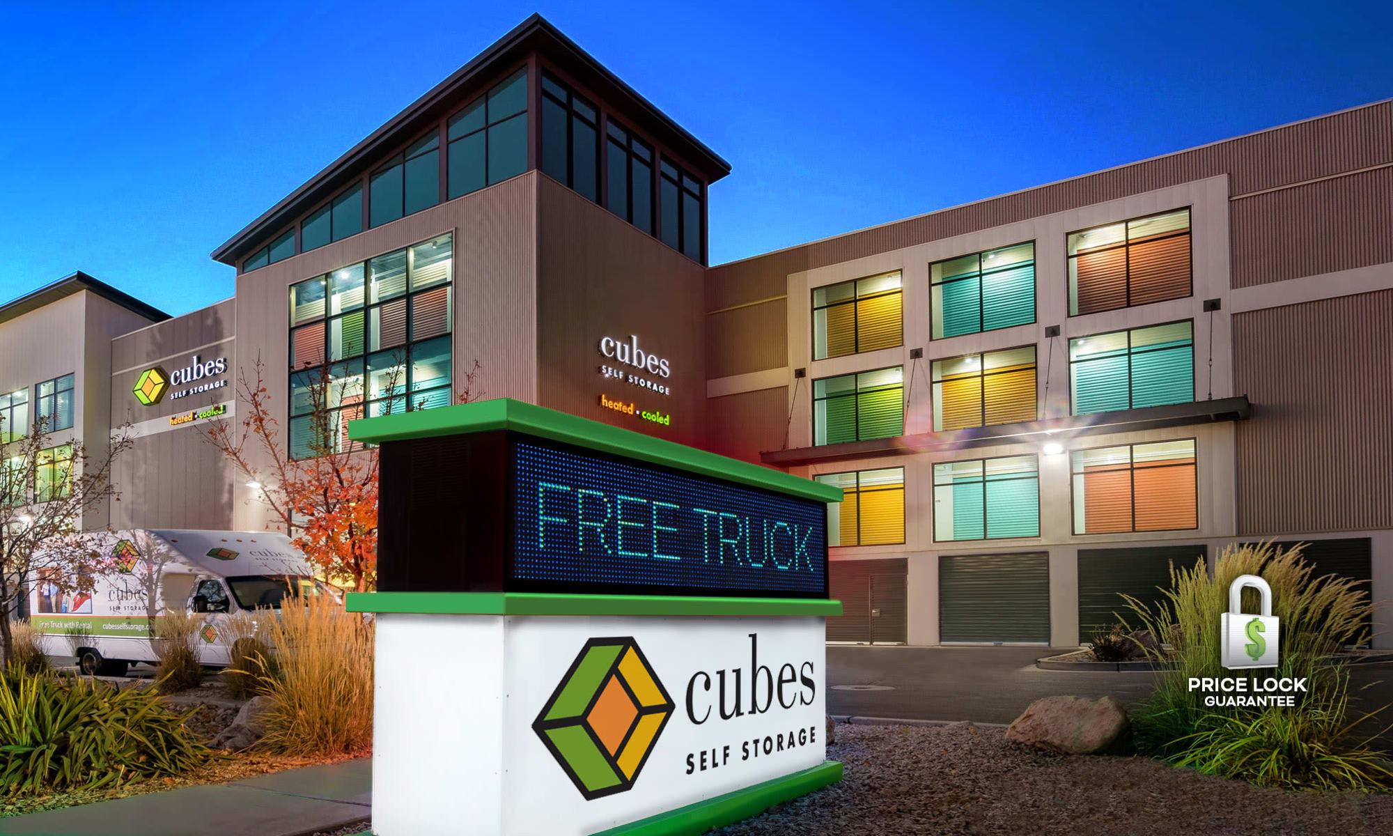 Self storage in Cubes Self Storage in Millcreek, Utah