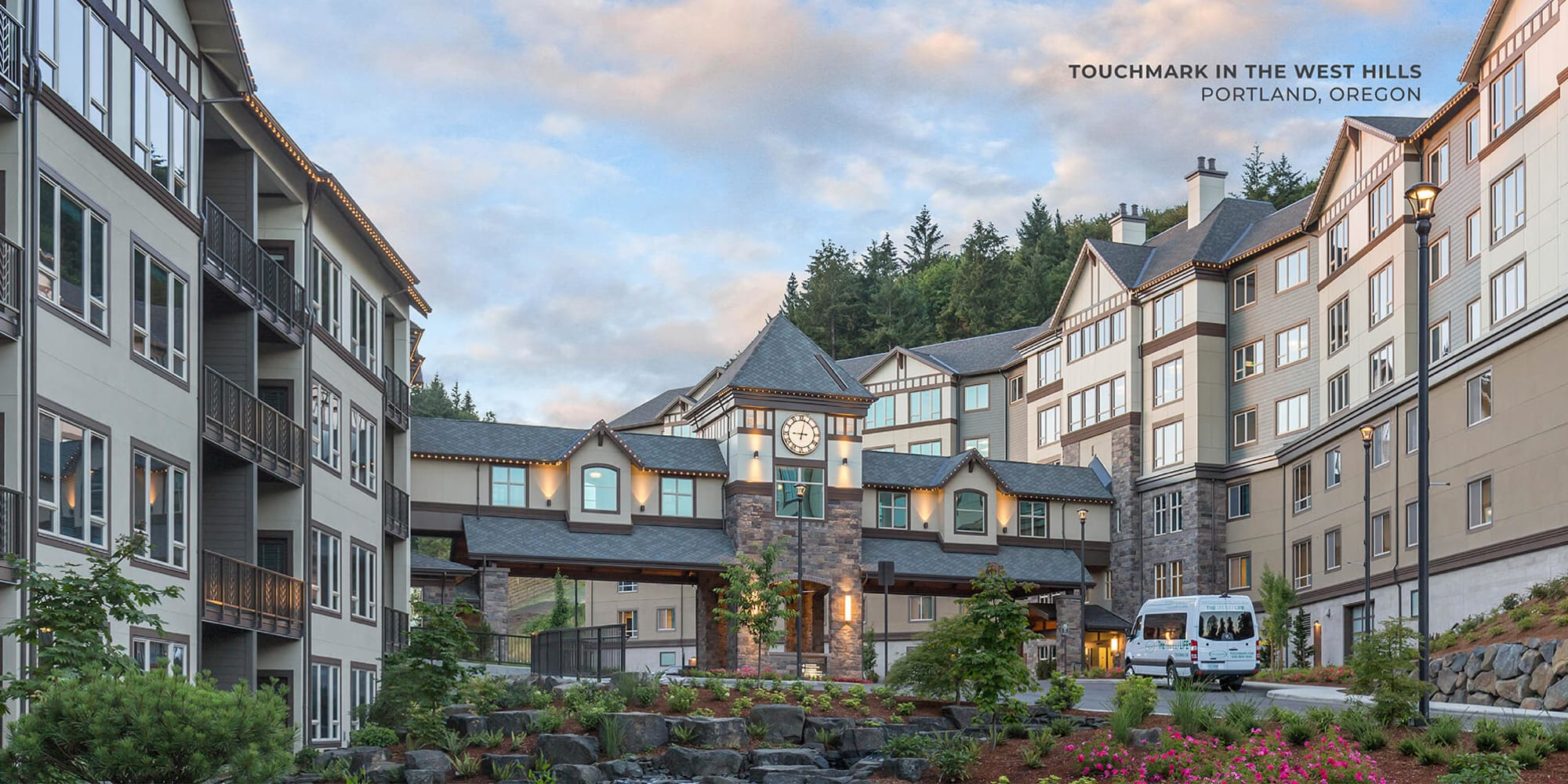 Touchmark in the West Hills in Portland Oregon