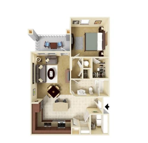Luxury 1, 2 & 3 Bedroom Apartments in Ooltewah, TN
